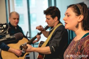 In the Studio: Bello Spark on Local Spins Live. (Photo/Anthony Norkus)