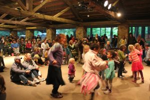 Families and Dancing: Part of the Buttermilk experience. (Photo/Local Spins)