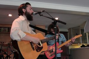 On the Road: Nathan Kalish & The Lastcallers at Michigan House. (Photo/Anna Sink)