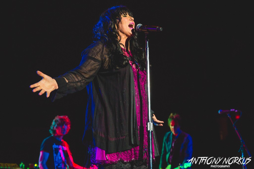 Crazy On Heart: Fans at Van Andel Arena embraced Ann Wilson and Heart on Saturday night. (Photo/Anthony Norkus)