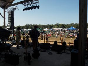 Hoxeyville Hoopla: Last year's festival drew about 3,500 people. (Photo/Local Spins)