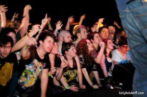 Avid Fans: La Dispute has cultivated an impressive following of devotee. (Photo/Katy Batdorff)