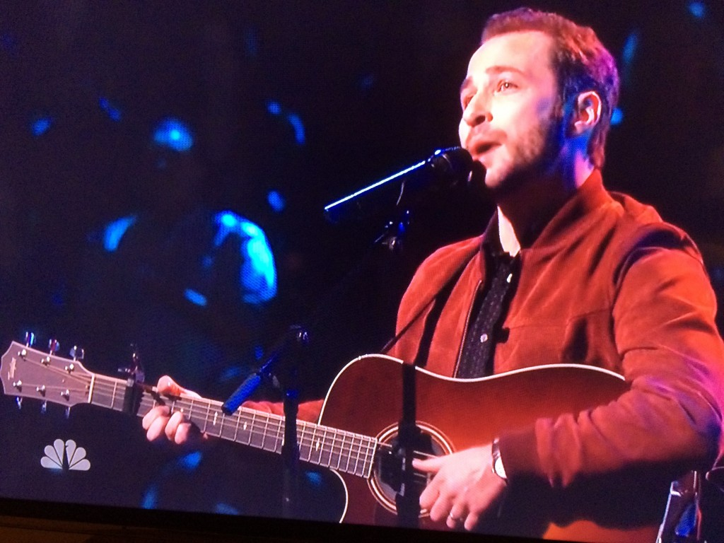 """Rallying the Troops: Joshua Davis' Michigan fan base has organized  watch parties for his performance this week on """"The Voice."""""""