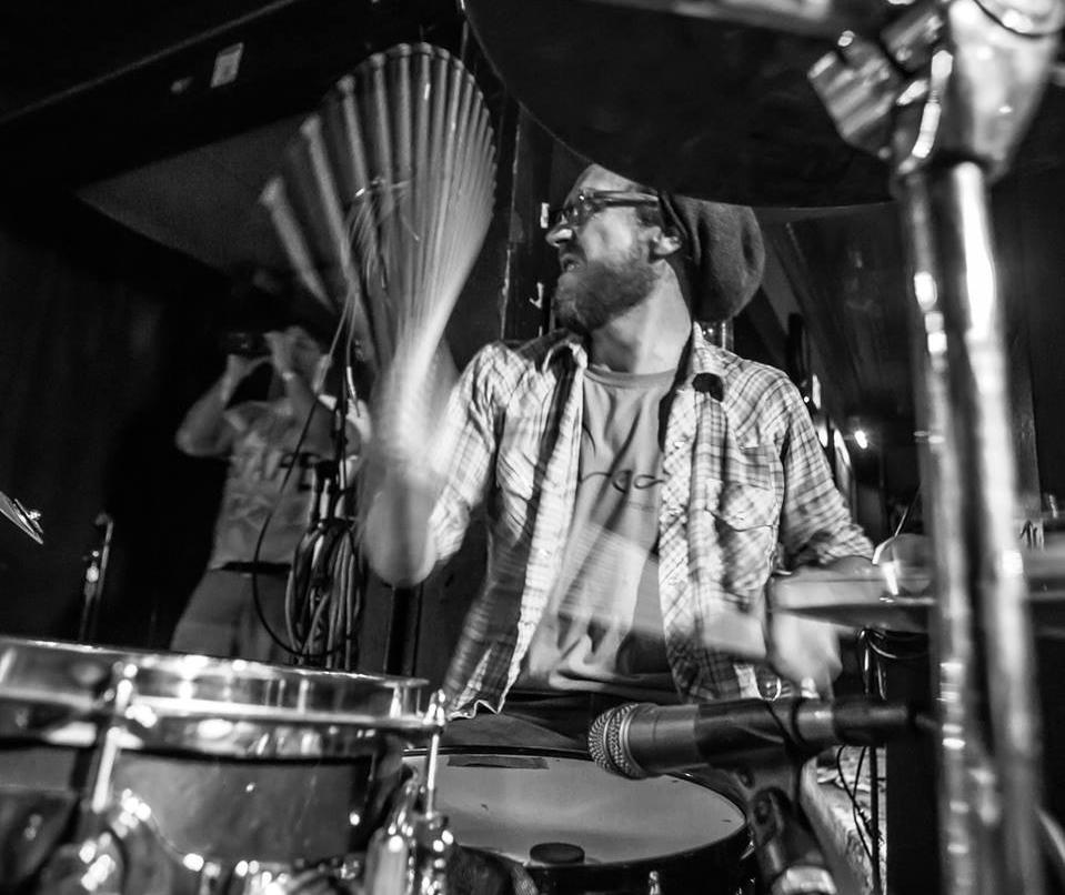 Psychotic Drummer: Scott Pellegrom unleashes his new album on Saturday.