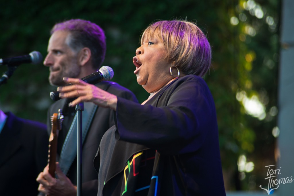 Ain't Tired Yet: Mavis Staples unleashed powerful, energetic vocals at Meijer Gardens. (Photo/Tori Thomas)