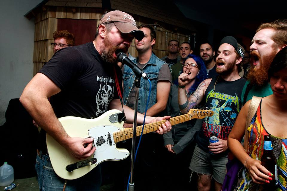 'Playing Their Hearts Out': Bars of Gold is just one of dozens  of bands playing Fat Guy Fest this weekend.