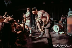 Frenetic, Fan-Engaging: Every Time I Die on stage. (Photo/Anthony Norkus)