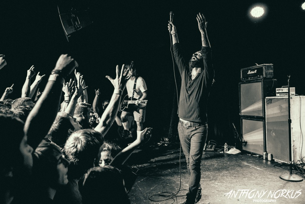 Explosive: Every Time I Die playing The Stache on Wednesday. (Photo/Anthony Norkus)
