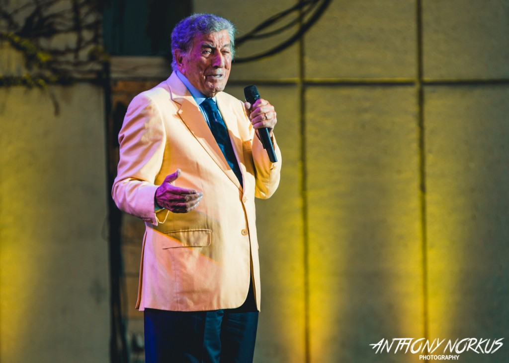Singing the Standards: American jazz/pop icon Tony Bennett played Meijer Gardens for the first time on Monday. (Photo/Anthony Norkus)