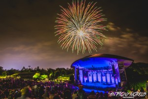20th Anniversary Pyrotechnics: Meijer Gardens closed its summer series with a bang. (Photo/Anthony Norkus)