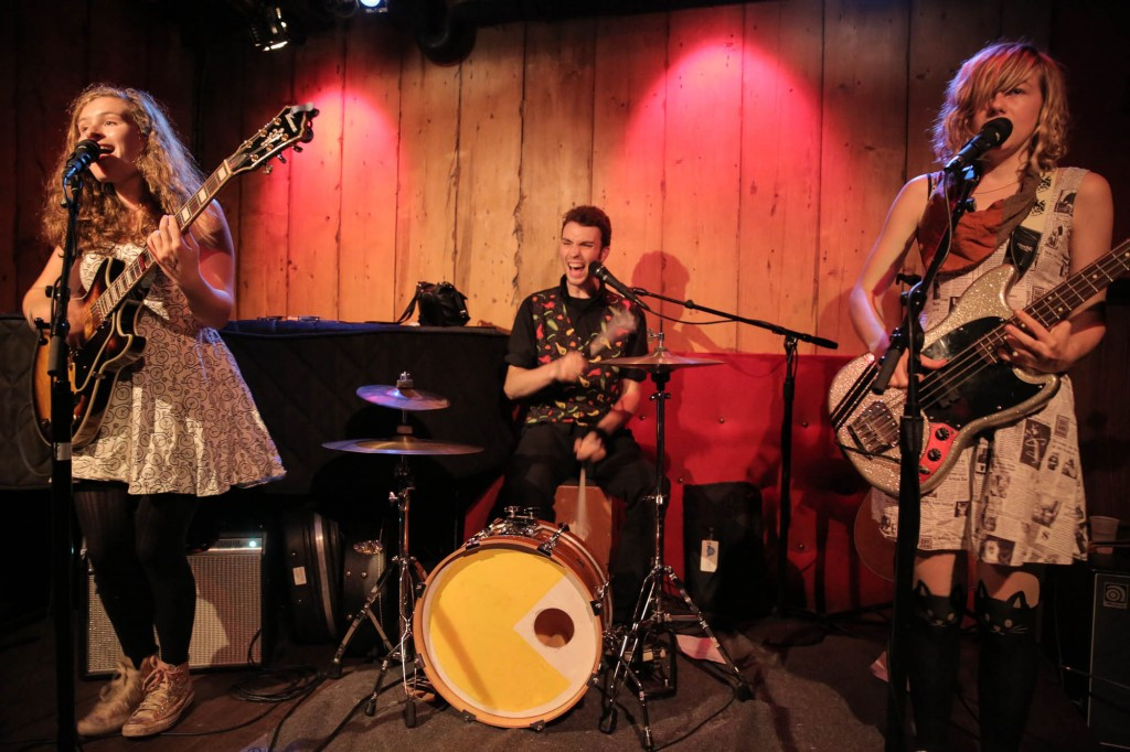 Fast-rising Traverse City folk-rock trio The Accidentals came out on top with the public in the folk/country category. (Photo/Paul Sinkevics)