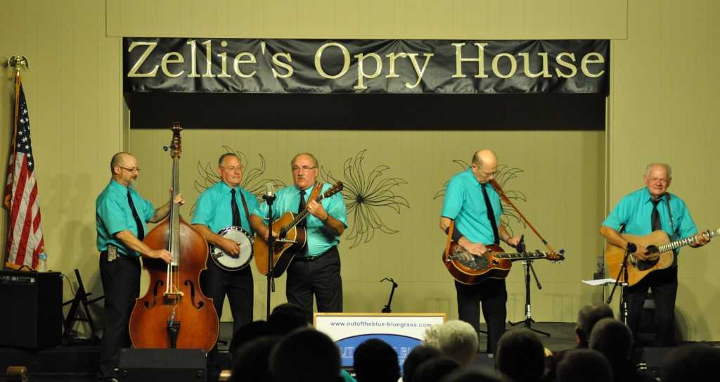 Returning for the First Show: Out of the Blue will play the revamped Zellie's on Oct. 24.