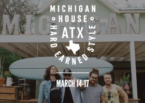 A Slice of The Great Lakes State: Michigan House sets up in Austin this week.