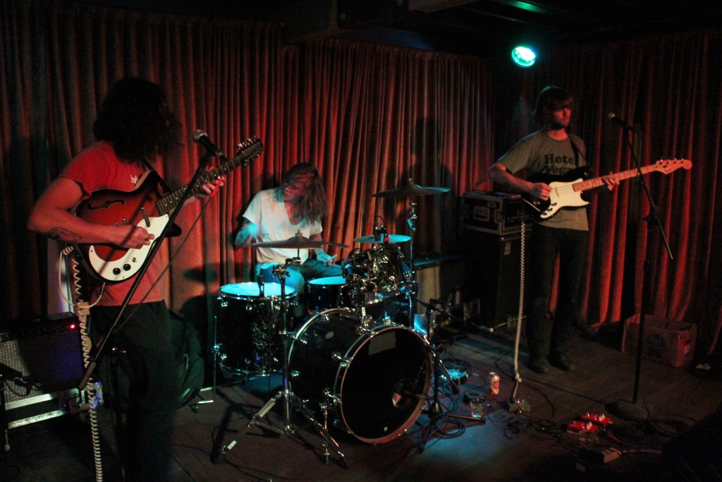 Pure Gold at Stay Gold: Heaters playing Austin on Wednesday night. (Photo/Anna Sink)