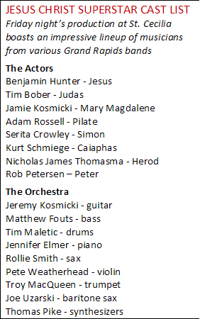Friday's Cast of Musicians