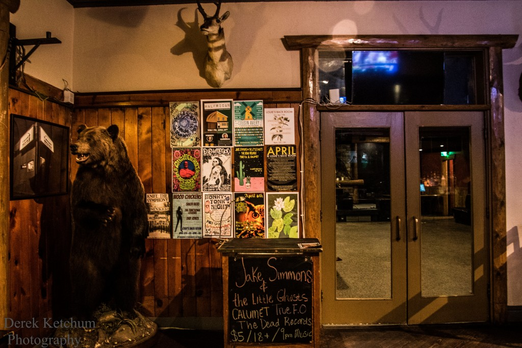 Charming, Taxidermy-Sprinkled: Louie's Back Room combines intimacy, earthiness and musical fervor. (Photo/Derek Ketchum)