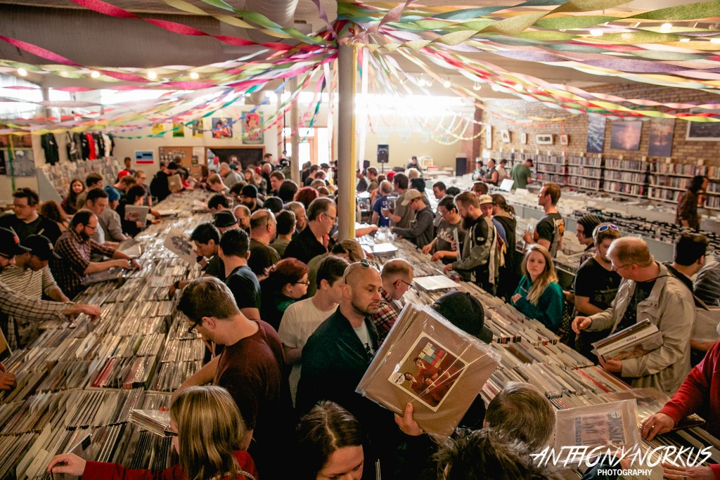 Embracing Vinyl and Local Music: Indie record shops will be packed again on Saturday. (Photo/Anthony Norkus)