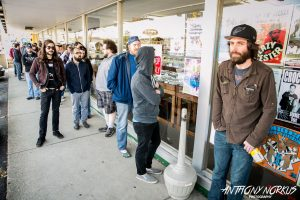 Lining Up for Deals, Special Releases: Corner Record Shop in Grandville (Photo/Anthony Norkus)