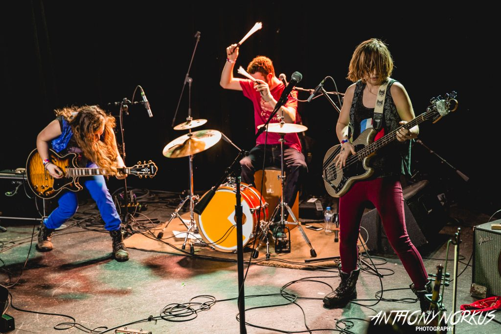 Unbridled Effervescence: The Accidentals on stage. (Photo/Anthony Norkus)