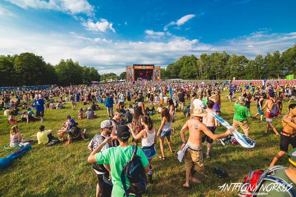 The Great Musical Outdoors: Michigan brims with colorful summer music festivals, including Electric Forest. (Photo/Anthony Norkus)