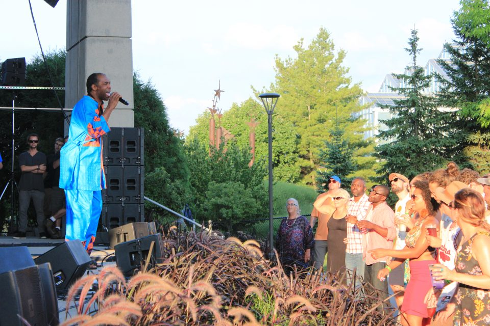 Femi Kuti brings the musical \'beauty of Africa\' to Meijer Gardens