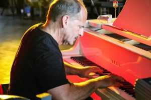 At the Yamaha: Jeff Haas appears in Grand Rapids this week. (Photo/Myrna Jacobs)