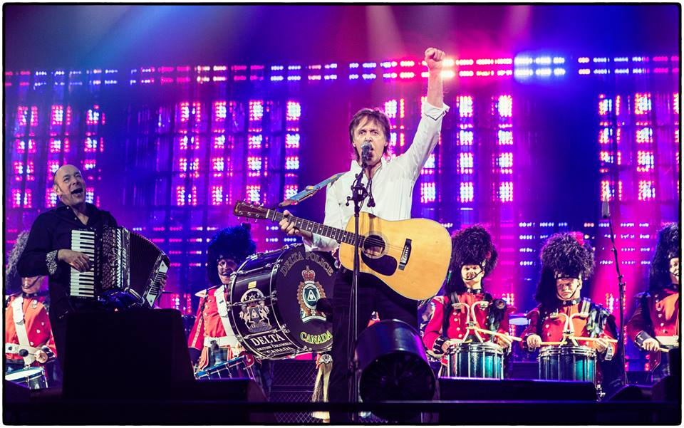His Grand Rapids Debut: Paul McCartney kicks off the week with one of West Michigan's biggest shows of the year.