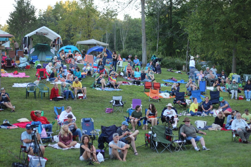 Filling the Hill: Holler Fest celebrates its 10th anniversary this weekend in southern Jackson County.(Photo/Ricky Olmos)