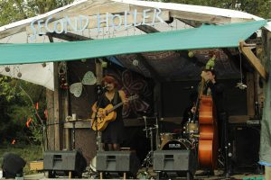 Fun on the Farm: Libby DeCamp was part of this year's lineup. (Photo/Barak Howell)