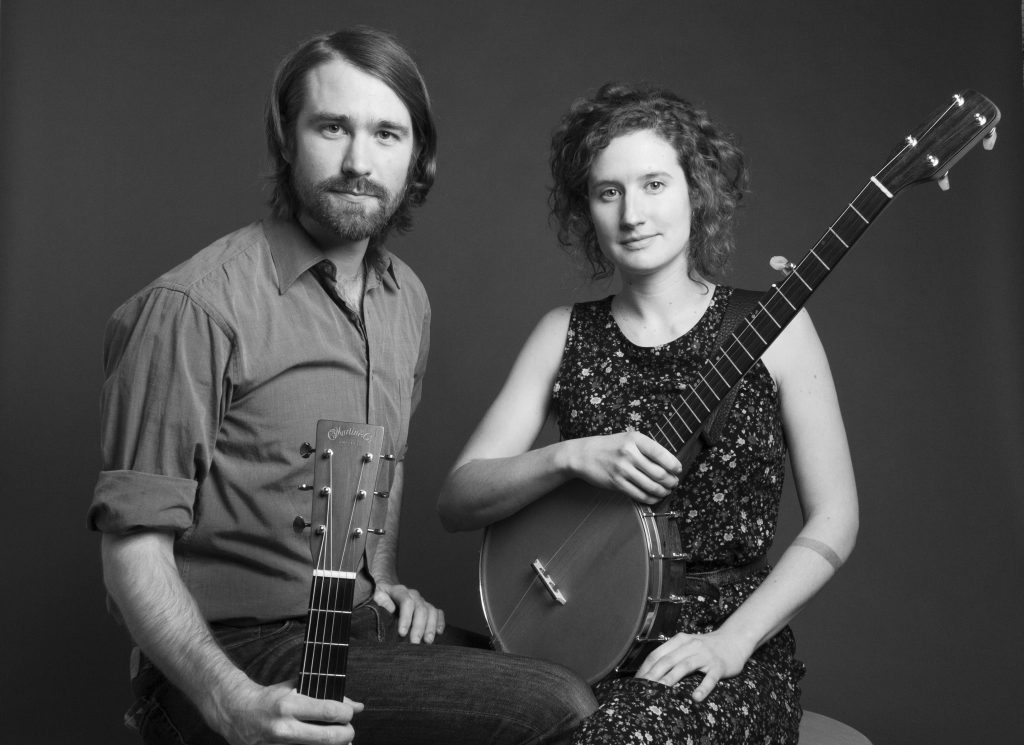'Intimate, Careful, Quiet' Music: Michael Beauchamp and Laurel Premo of Red Tail Ring. (Photo/Mary Whalen)