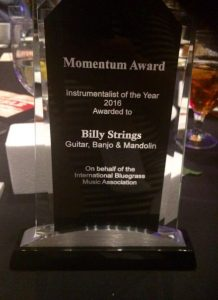 The IBMA Momentum Award: 'Instrumentalist of the Year'