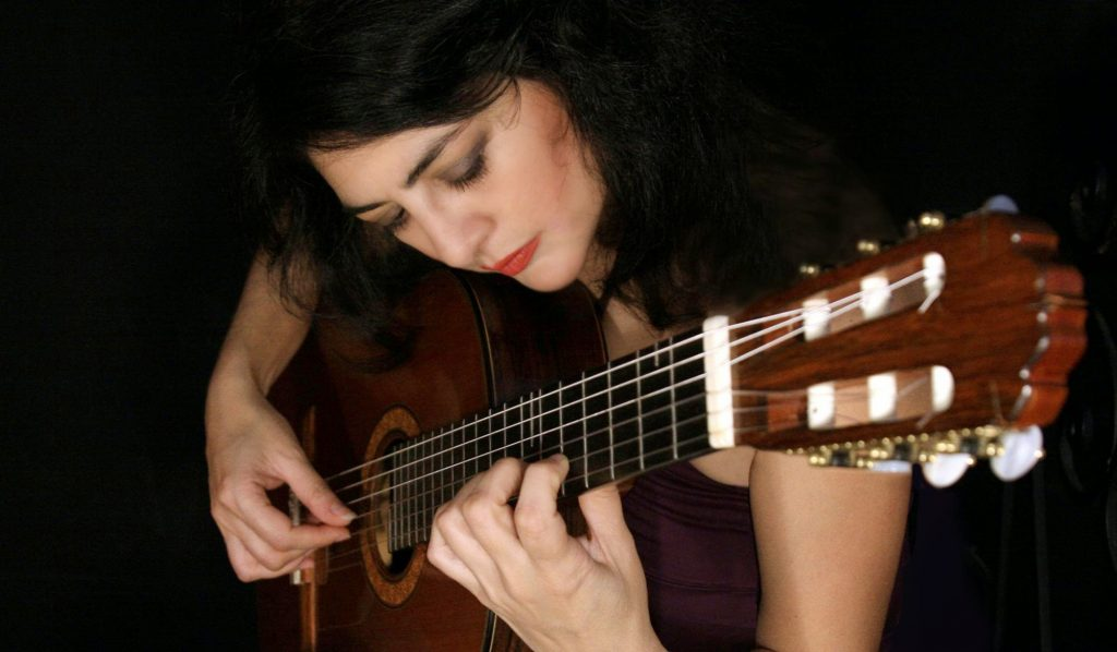 Classical Guitar Virtuoso: Lily Afshar plays Hope College on Friday.