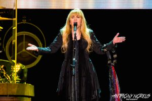 'Gold Dust Woman': Nicks on stage at Van Andel Arena. (Photo/Anthony Norkus)