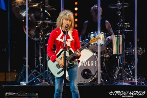 Rock Icon: Chrissie Hynde and The Pretenders opened the show. (Photo/Anthony Norkus)