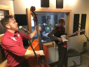 On the Air: The Bootstrap Boys performing during Local Spins Live. (Photo/Local Spins)