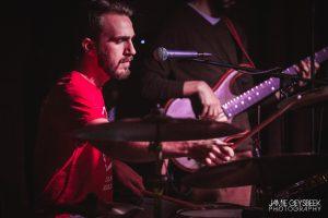 Challenges and Great James: Drummer John Nowak (Photo/Jamie Geysbeek)