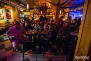 Popular Spot: The Monday night residency has drawn big crowds. (Photo/Jamie Geysbeek)