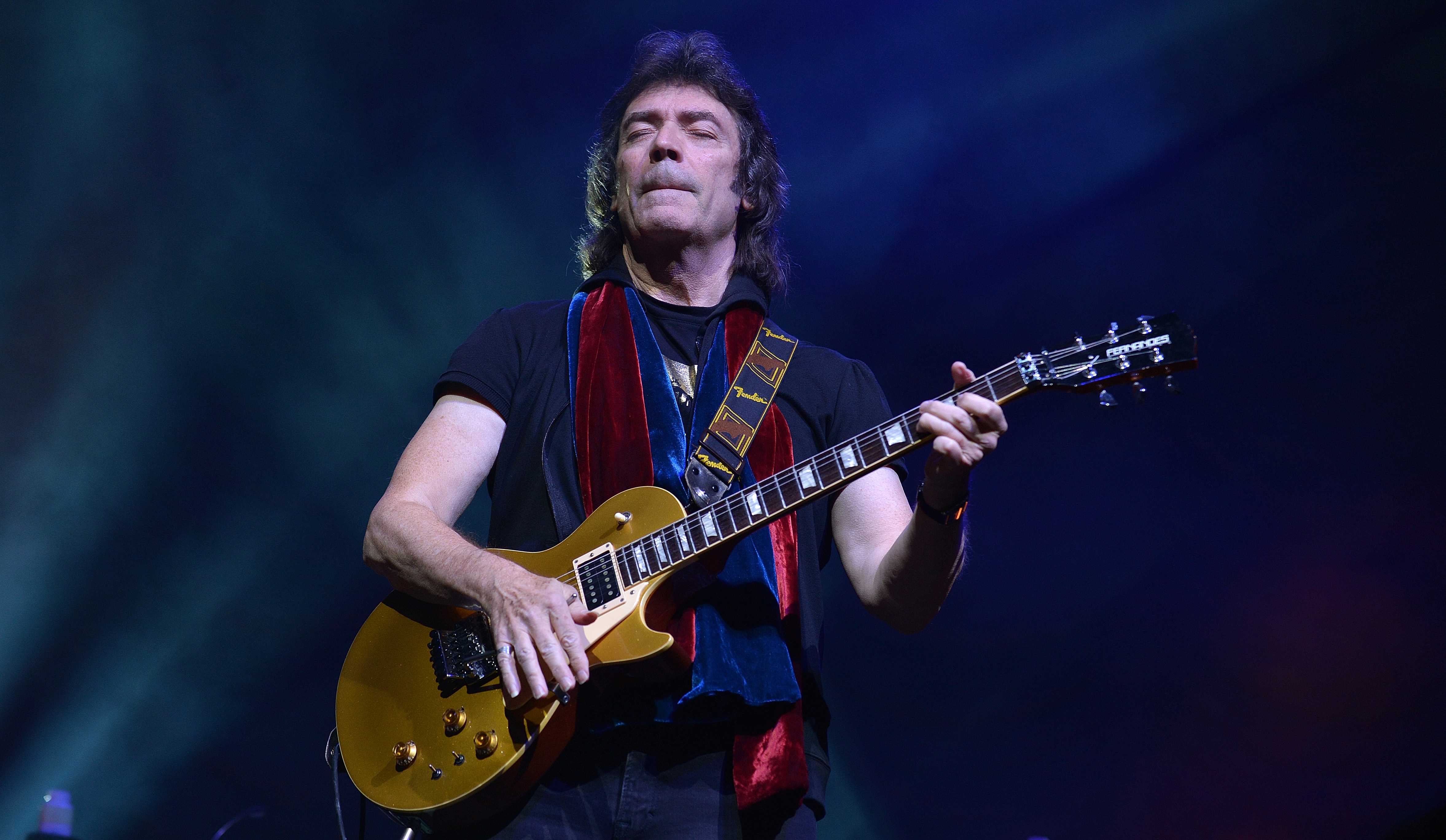 Former genesis guitarist steve hackett hearkens back to prog rock living for music and reliving genesis steve hackett brings his tour to grand rapids tuesday photolee millward m4hsunfo