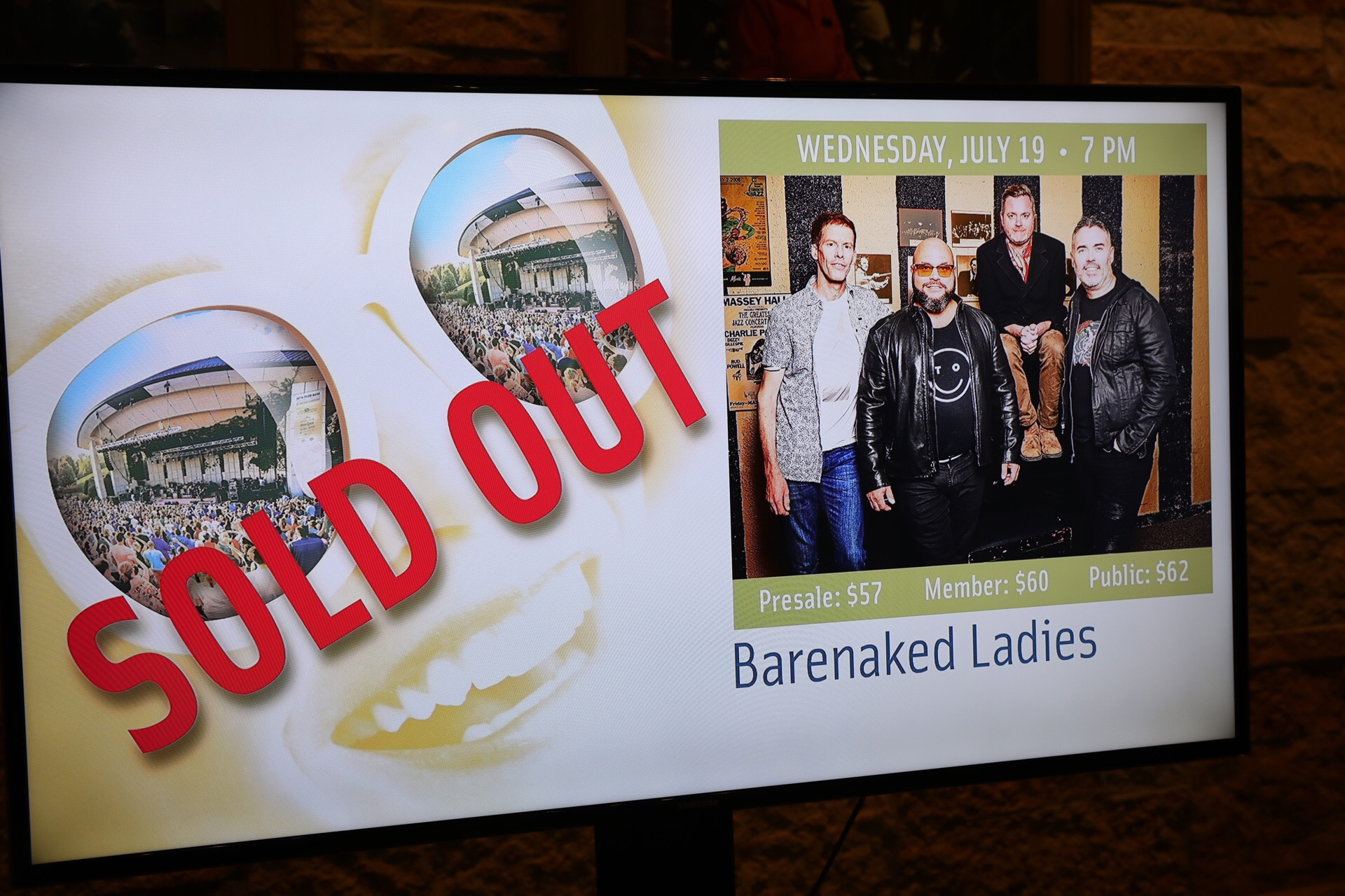 Meijer Gardens Sells Out Tickets For Barenaked Ladies Sheryl Crow The Shins Huey Lewis And