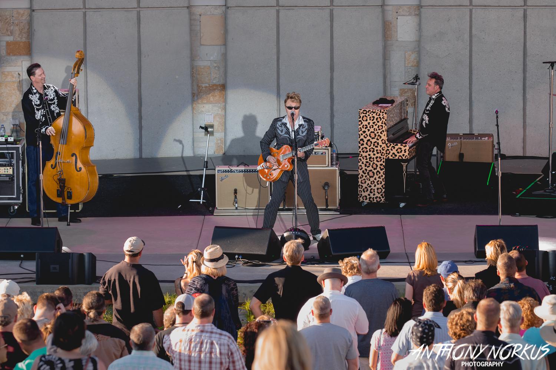Brian setzer jesse ray the carolina catfish incite - Meijer gardens summer concerts 2017 ...