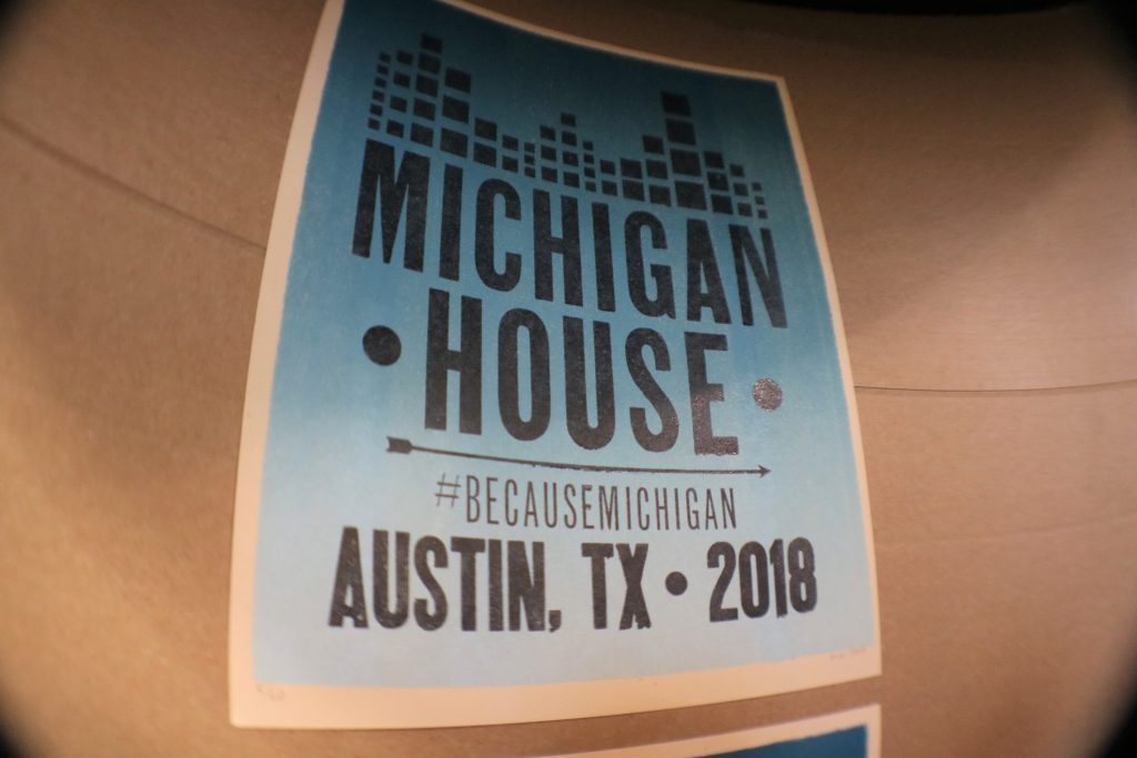 Tunde Olaniran, water protection, ArtPrize challenge pump up Michigan House at SXSW