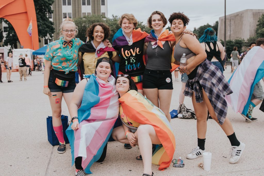 Pride Festival exudes joy, energy, spirit for lively crowd at Grand Rapids' Calder Plaza