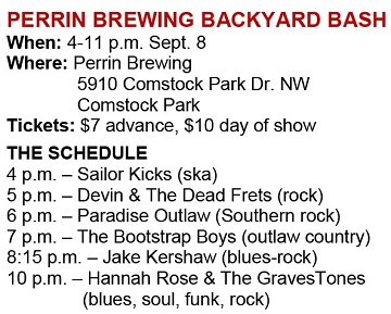 Perrin Brewing Backyard Bash To Star Hannah Rose Graves Local Spins