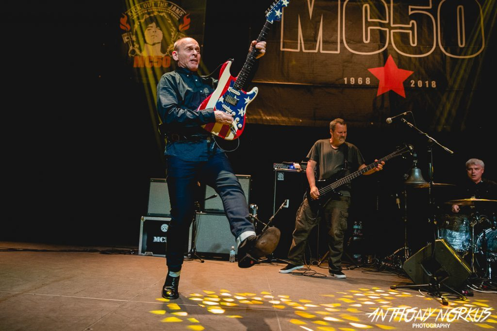 MC50 retains potent proto-punk punch with all-star lineup led by Wayne Kramer