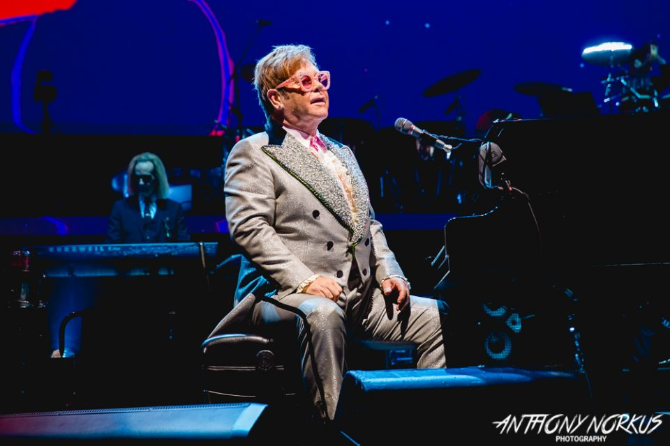 Elton John bids Grand Rapids adieu with gratitude, big hits