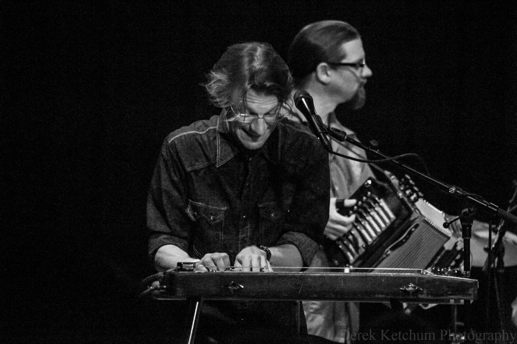 Traverse City's Joe Wilson takes Dobro to next level with trio project, as in-demand sideman