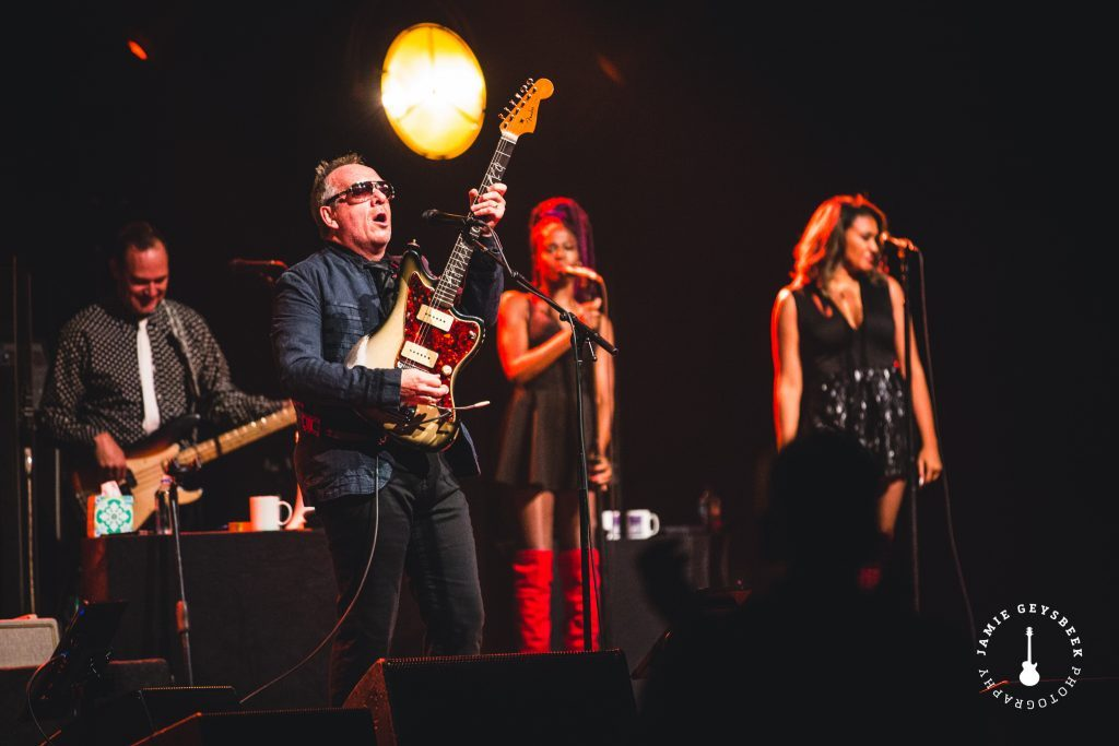 Elvis Costello aims true in Grand Rapids with mystery dances, peace, love and understanding