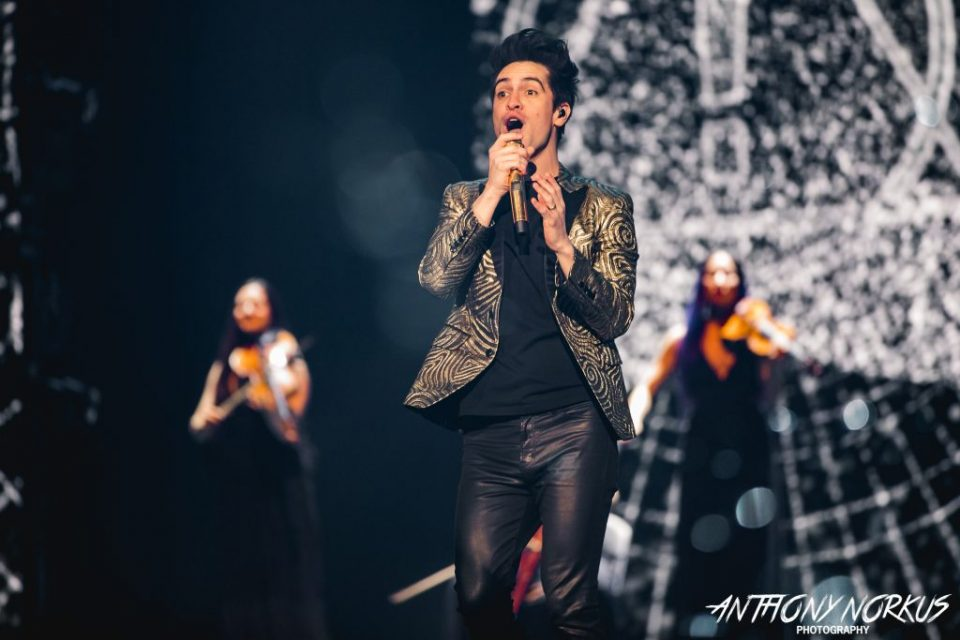 Panic! At the Disco's sold-out spectacle heats up Van Andel