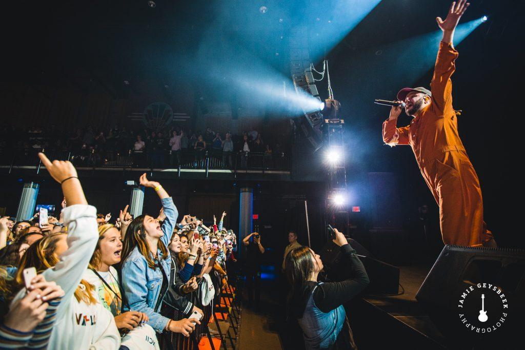 Quinn XCII ignites capacity Grand Rapids crowd with emotional, Michigan-bred pop