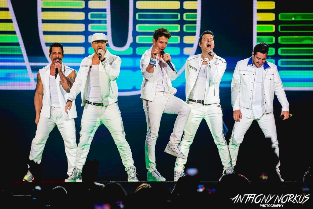 New Kids on the Block unleash nostalgic 'Mixtape' of songs, stars at Van Andel Arena